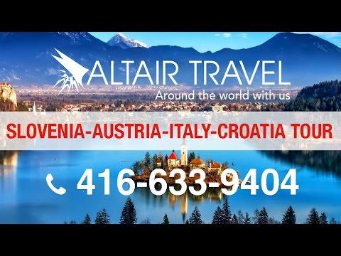 14-day tour of Croatia-Slovenia-Italy