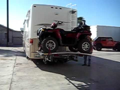 Motorcycle And Atv For A Motorhome Youtube