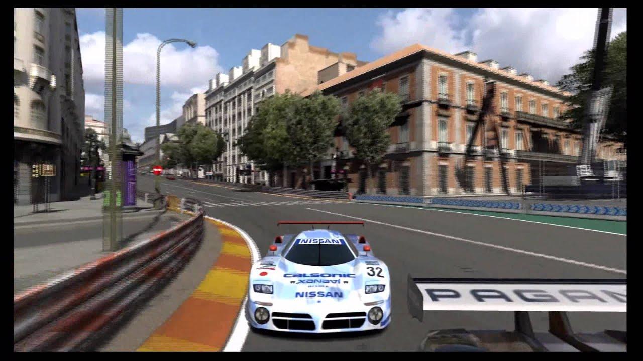 Circuito De Madrid Gran Turismo 5 : Gran turismo nissan r gt race car circuito de