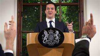 U.K. Treasury Chief Osborne's First Statement on 'Brexit'
