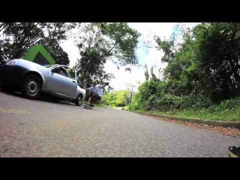 Fernando Yuppie Almost Hits Car Door