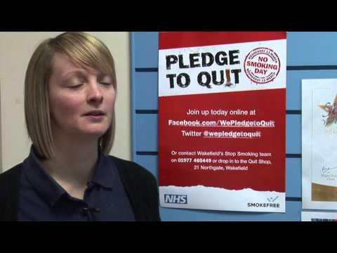 No Smoking Day 2013 Video News Release  - Wakefield Stop Smoking Service