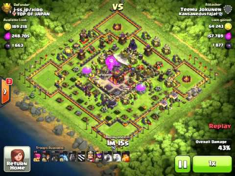 Clash of Clans - Whaling in Titan League with Lavaloons