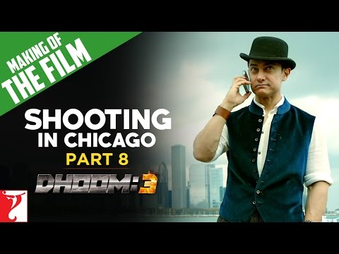 Making Of DHOOM:3 - Part 8 - Shooting In Chicago