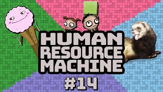 Human Resource Machine with Yahweasel Part 14 — SO SPAGHETTI