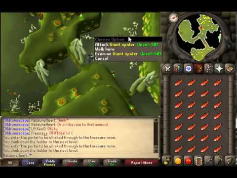 Best combat training spot for High Levels in 2007 Runescape [AFK Friendly]