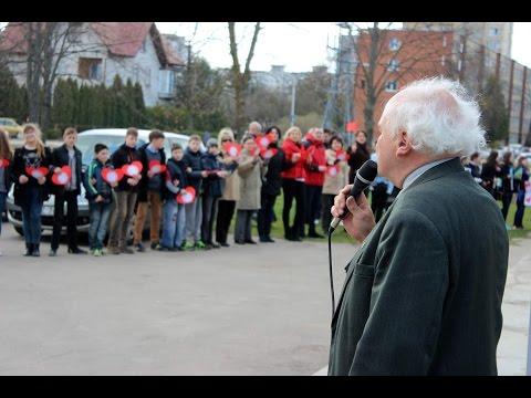 Apie J.Urbšio katalikiškos mokyklos protestą