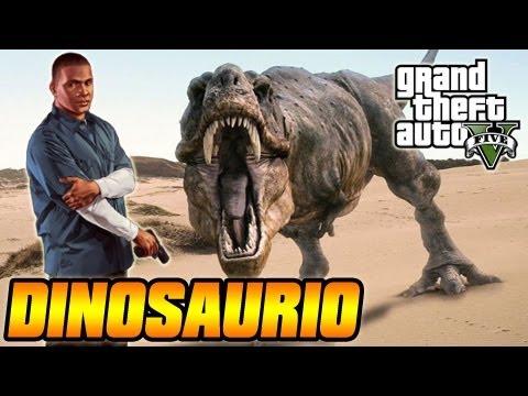 Misterios De GTA V - Dinosaurio (kronosaurus) Fósil En Grand Theft Auto V - Easter Egg (GTA 5)