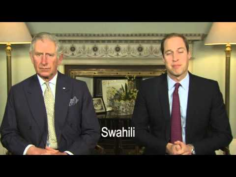 THE 'UNITE FOR WILDLIFE' VIDEO MESSAGE BY THE PRINCE OF WALES AND THE DUKE OF CAMBRIDGE
