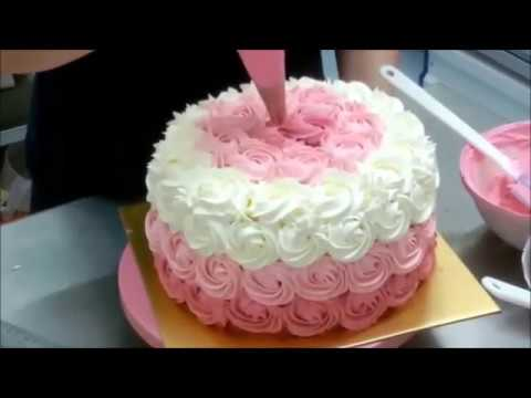 Ombre Rose Cake Youtube