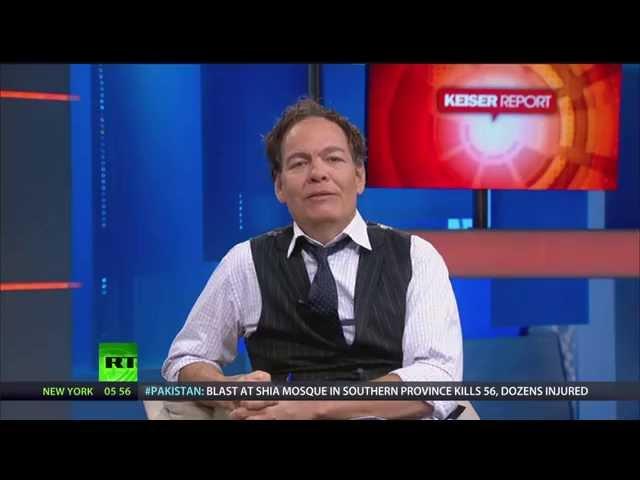 Keiser Report: Economy - Snake Eating Itself (E713)