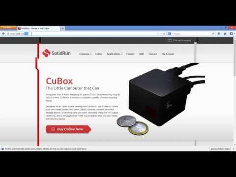 Installer Guide for the first CuBox