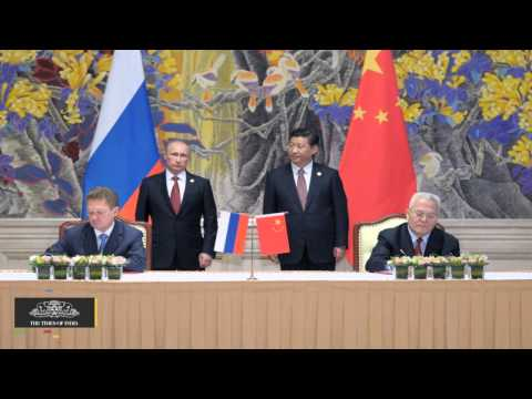 Russia, China Ink Framework Agreement on Second Major Gas Supply Deal - TOI