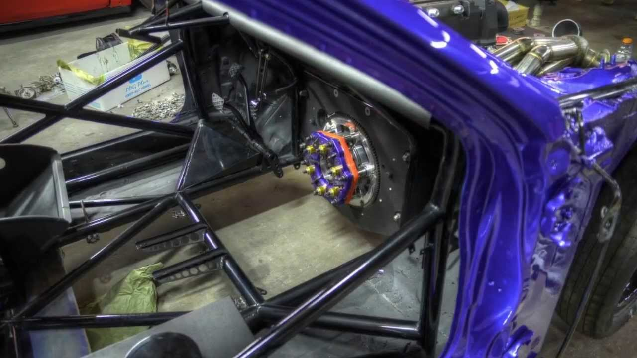 Lucimar Honda Civic vs Ortiz RX7 - Match Race Orlando Speed World - FuelTech - YouTube