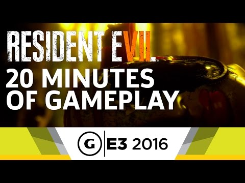 20 Minutes of Resident Evil 7 Gameplay at E3 2016