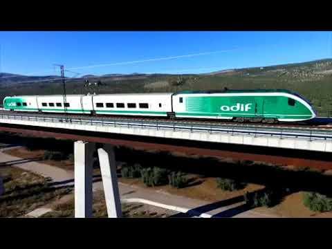 Pruebas línea alta velocidad Antequera Granada