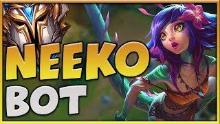 HOW TO PLAY NEEKO BOT IN HIGH ELO - CHALLENGER NEEKO - League Of Legends