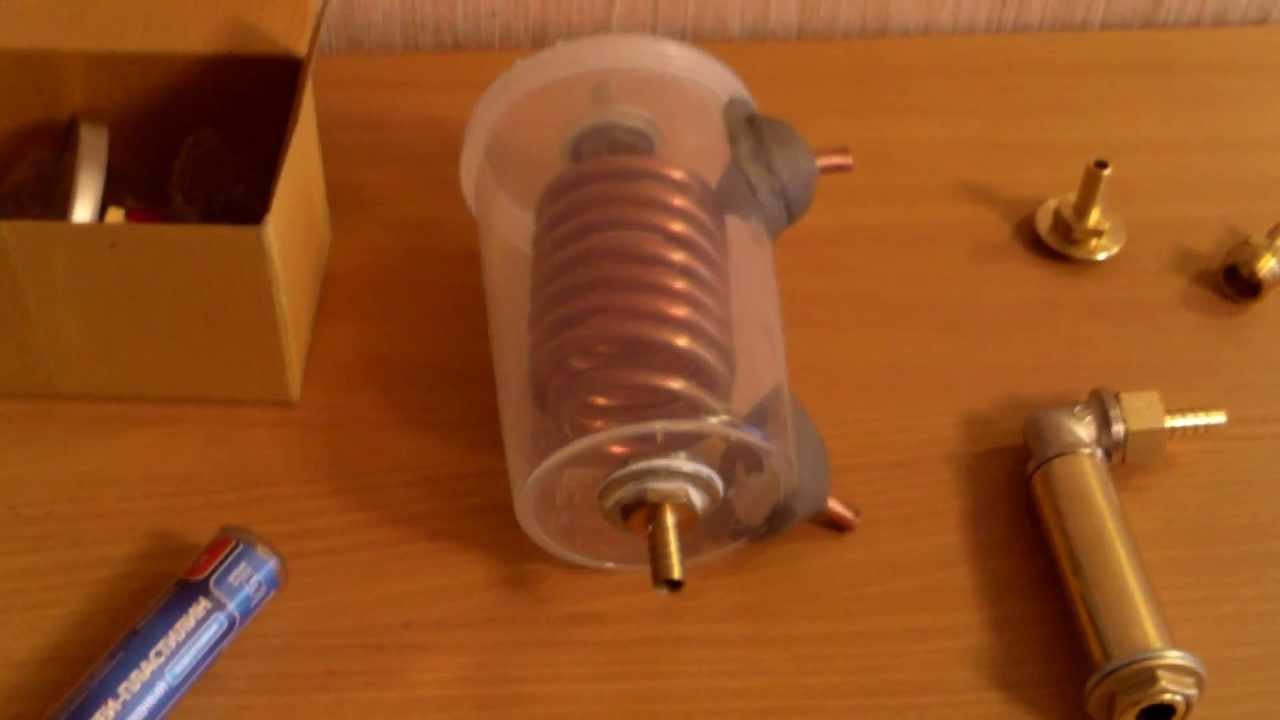 Как сделать змеевик для самогонный аппарат своими руками 482