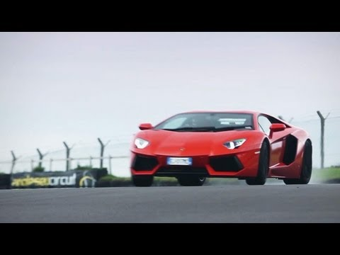 Lamborghini Aventador LP700-4 - CAR and DRIVER