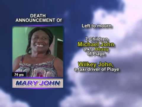 Mary John Long