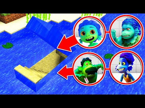 WHATS INSIDE THE LUCA FAMILY UNDERWATER SECRET BASE?Ps3/Xbox360/PS4/XboxOne/PE/MCPE)