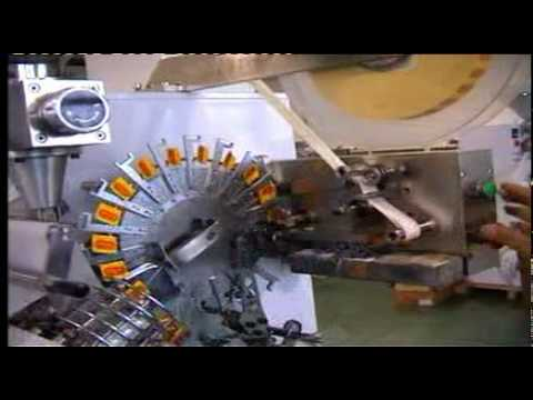 Автомат фасовки и упаковки чая в фильтр-пакетики