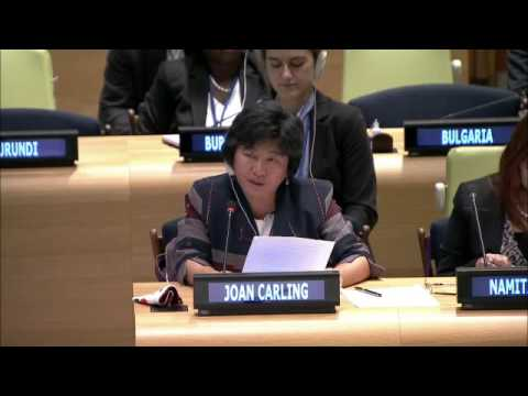 Ms. Joan Carling - Asia Indigenous Peoples Pact - UN Sustainable Development Summit