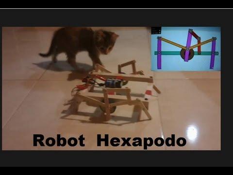 Robot ara a o hexapodo como se hace youtube - Que hace un robot de cocina ...