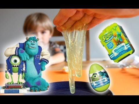 Monsters University Slimy Figurines - MU Blind Bags - MU Surprise Eggs