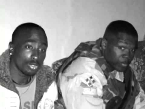 2PAC ALIVE with 50 CENT hiding in Kosovo WAR ZONE HQ)