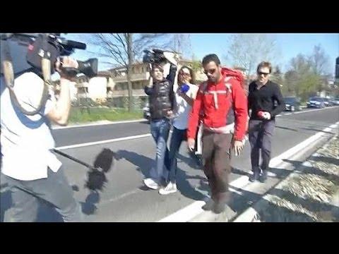 Jérôme Kerviel apprend la décision de la Cour de cassation durant sa marche - 19/03