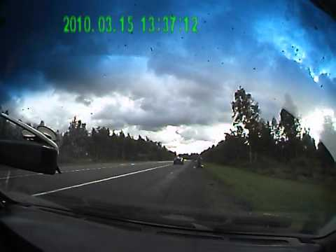 Авария на трассе М8