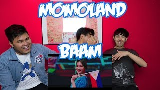 MOMOLAND - BAAM MV REACTION (FUNNY FANBOYS)