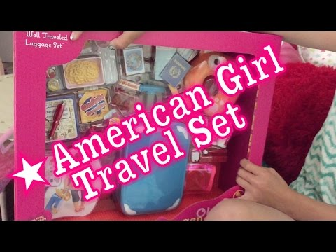 American Girl Doll Travel Set