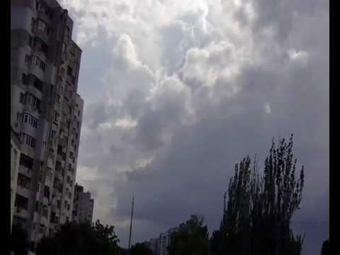 Гроза в Одессе 06.06.2012 . Storm in Odessa 06.06.2012 .
