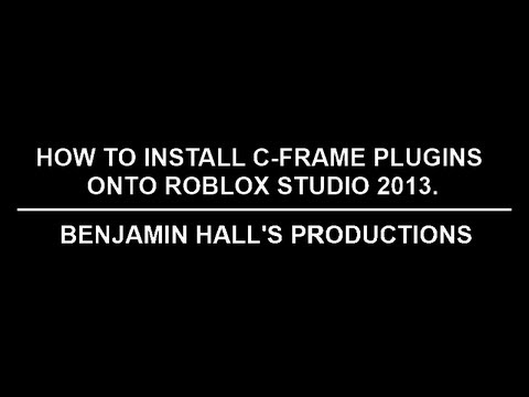 how to get a plugin in roblox studio