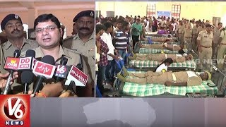 Police Martyr Memorial Week | Khammam Police Organize Blood Donation Camp