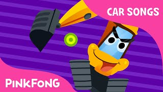 I Am Excavator | Car Songs | PINKFONG Songs for Children