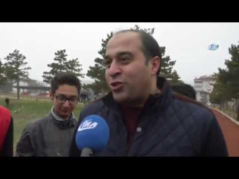 Cumhurbaşkanı Erdoğan'ın Geldiğini Duyan Koştu
