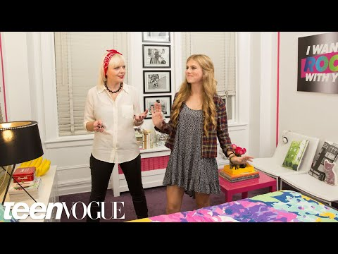 Natalie's Big Reveal -- My Room Makeover -- Teen Vogue