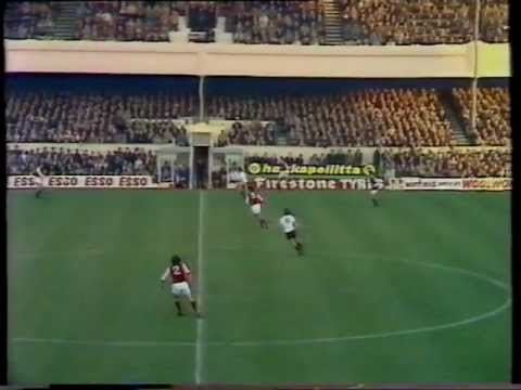 Arsenal 3 - Manchester United 1 22nd November 1975