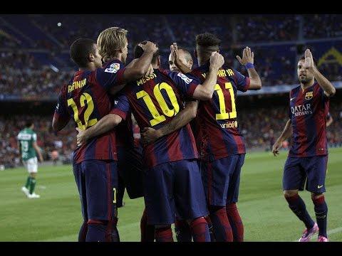 Barcelona vs Club León [6-0] • All Goals & Highlights • Joan Gamper Trophy, 2014 ||HD||