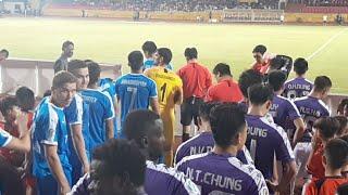 Trực tiếp bóng đá Hà Nội 0 - 1 Altyn Asyr : Quang Hải