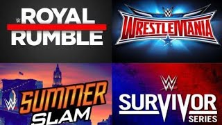 WWE PPV Calender 2020 full schedule | Full details Date , Venue , Time