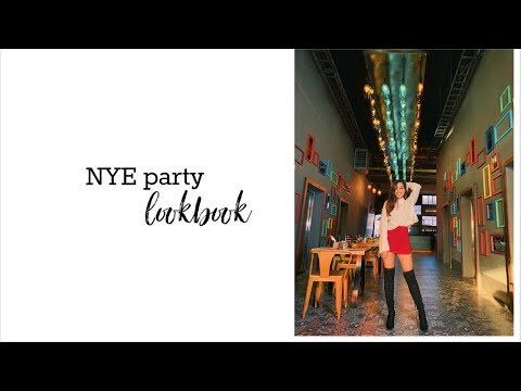 New Year's Eve Party Outfit Ideas #LOOKBOOK