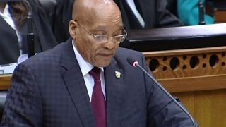 Watch Jacob Zuma's full anti-xenophobia speech in Parliament here