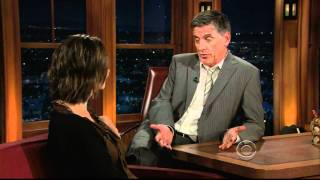 [HD] Sela Ward  Interview On The Late Late Show With Craig Ferguson 09/27/2010