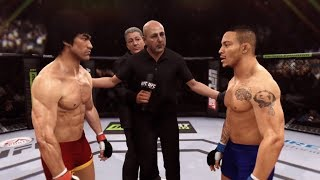 Bruce Lee vs. Mike Easton (EA Sports UFC) - CPU vs. CPU