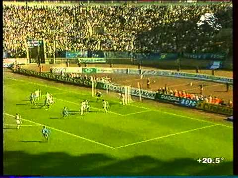 Первый гол А.Кержакова за Зенит, фрагмент матча.