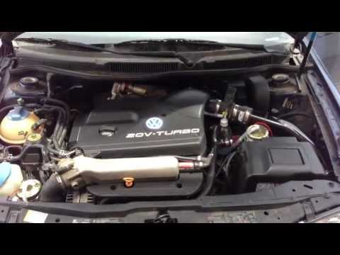 HHO Hydrogen Fuel Cell on 2001 VW Jetta 1.8t Test1